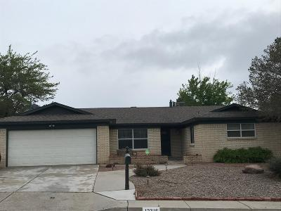 Albuquerque NM Single Family Home For Sale: $282,000