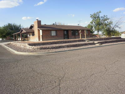 Socorro County Single Family Home For Sale: 1217 Hilton Place
