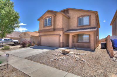 Albuquerque Single Family Home For Sale: 10312 Lone Tree Road SW