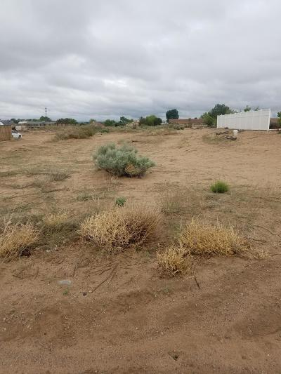 Rio Rancho Residential Lots & Land For Sale: Mohawk Street SW