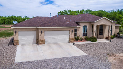 Valencia County Single Family Home For Sale: 5 Benito Lane