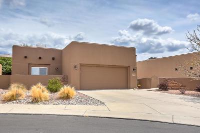 Albuquerque Single Family Home For Sale: 7432 Sandia Glow Court NE
