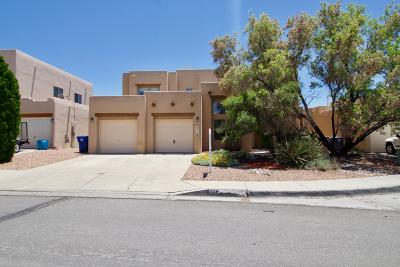 Albuquerque Single Family Home For Sale: 4412 Woodrose Road NW