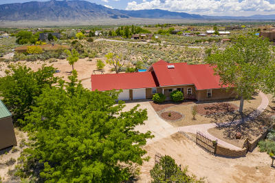 rio rancho Single Family Home For Sale: 1811 Alif Road NE