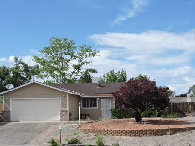 Rio Rancho Single Family Home For Sale: 644 Hood Road SE