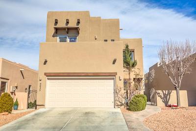 Single Family Home For Sale: 8831 Desert Finch Lane NE