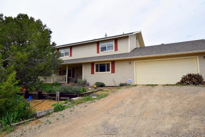 Tijeras, Cedar Crest, Sandia Park, Edgewood, Moriarty, Stanley Single Family Home For Sale: 38 Wildlife Trail