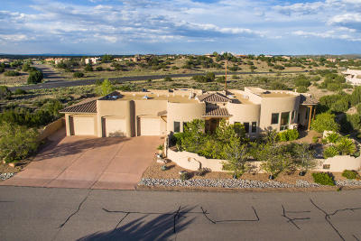 Placitas Single Family Home For Sale: 65 Desert Moutain Road