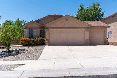 Albuquerque Single Family Home For Sale: 10008 Sun Chaser Trail SW