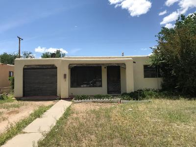 Albuquerque Single Family Home For Sale: 2709 Mary Ellen Street NE