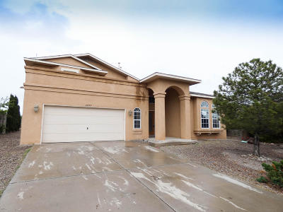 Rio Rancho Single Family Home For Sale: 6853 Augusta Hills Drive NE