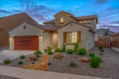 rio rancho Single Family Home For Sale: 3912 Mountain Trail Loop