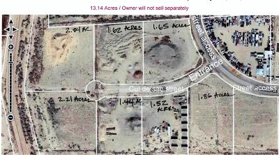 Albuquerque Residential Lots & Land For Sale: 13.14 Acres Zoned M-1 Coso Court SE
