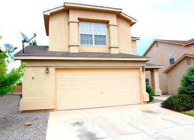 Albuquerque Single Family Home For Sale: 2724 Blue Sky Street SW