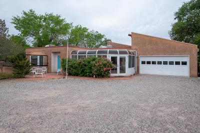 Albuquerque Single Family Home For Sale: 11305 Oakland Avenue NE
