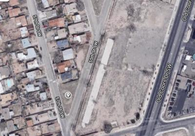 Albuquerque Residential Lots & Land For Sale: 57th Street SW