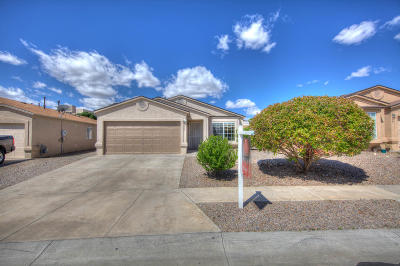Albuquerque Single Family Home For Sale: 619 Cyan Court NW