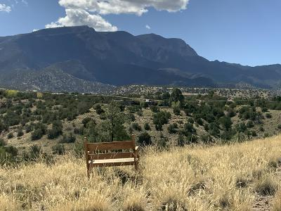 Placitas Residential Lots & Land For Sale: 26 Pinon Lane Lot 140 Ranchos