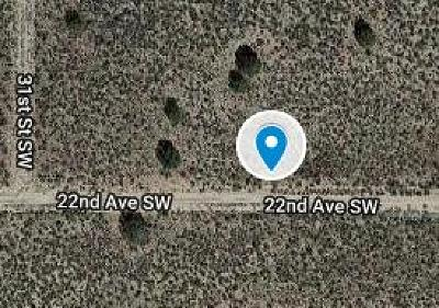Rio Rancho Residential Lots & Land For Sale: 2308 31st Street SW