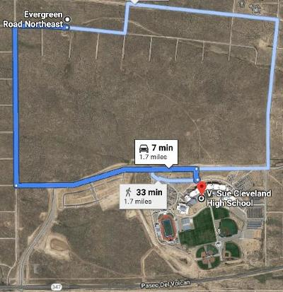 Rio Rancho Residential Lots & Land For Sale: 4129 Evergreen Road NE