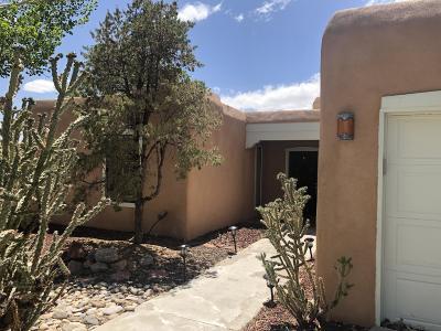 Albuquerque Single Family Home For Sale: 2715 Tramway Circle NE
