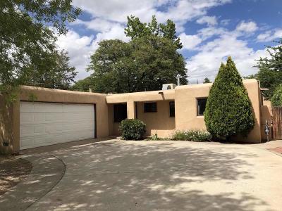 Albuquerque Single Family Home For Sale: 2028 General Somervell Street NE