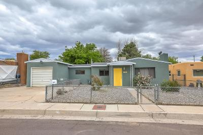 Albuquerque NM Single Family Home For Sale: $178,000