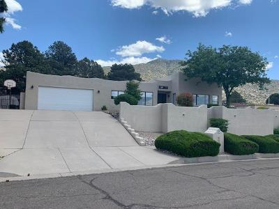 Bernalillo County Single Family Home For Sale: 3808 Calle Castano NE
