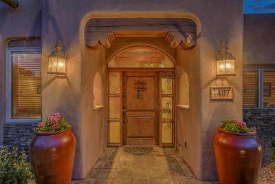 Single Family Home For Sale: 407 La Entrada