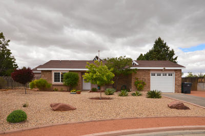 Rio Rancho Single Family Home For Sale: 430 Vancouver Place SE