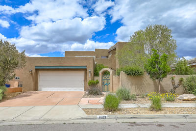 Albuquerque Single Family Home For Sale: 9105 Corona Avenue NE