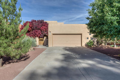 Single Family Home For Sale: 8917 Ortega Court NW