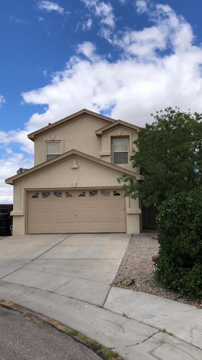 Albuquerque Single Family Home For Sale: 8431 Casa Morena Court NW