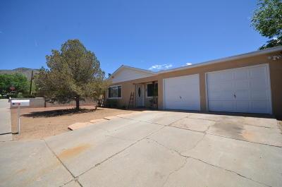 Albuquerque Single Family Home For Sale: 11740 Fox Point Avenue NE