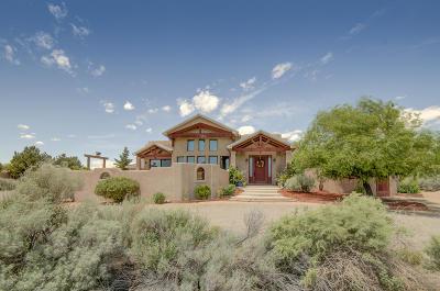 Rio Rancho Single Family Home For Sale: 2605 Saltillo Road NE