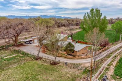 Valencia County Single Family Home For Sale: 1436 Cinder Lane