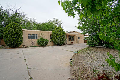 Albuquerque Single Family Home For Sale: 1724 Calle Los Vecinos NW