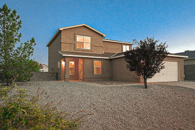 Rio Rancho Single Family Home For Sale: 6518 Freemont Hills Loop NE