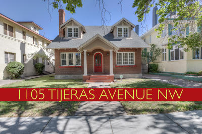 Albuquerque Single Family Home For Sale: 1105 Tijeras Avenue NW