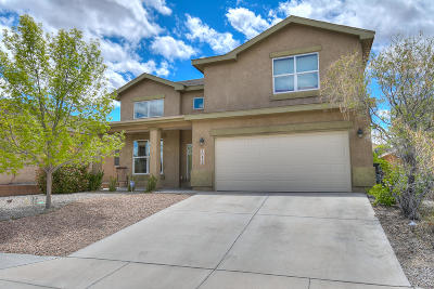 Albuquerque Single Family Home For Sale: 10439 Savoy Drive NW