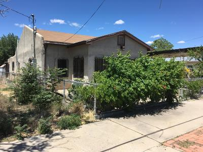 Albuquerque Single Family Home For Sale: 811 John Street SE