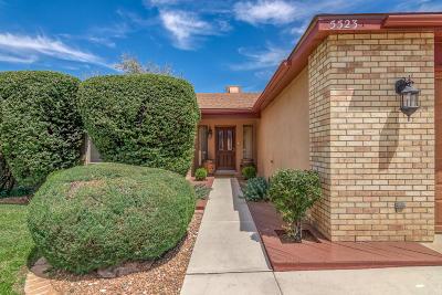 Bernalillo County Single Family Home For Sale: 5523 Vista Sandia NE