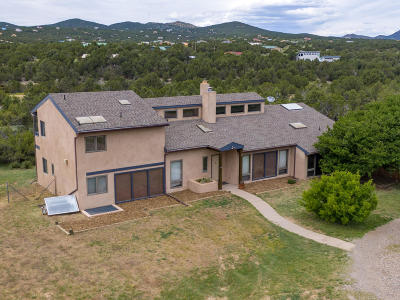Sandia Park Single Family Home For Sale: 16 Rael Cutoff Road