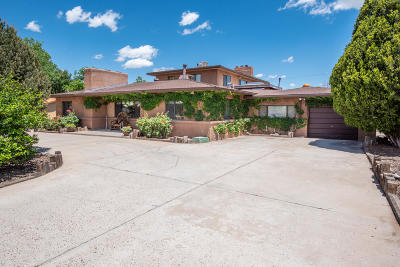 Albuquerque Single Family Home For Sale: 717 Fairway Road NW
