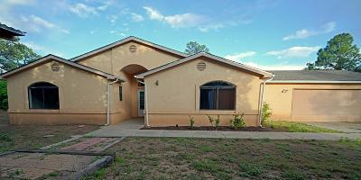 Tijeras, Cedar Crest, Sandia Park, Edgewood, Moriarty, Stanley Single Family Home For Sale: 21 Bluebird Court