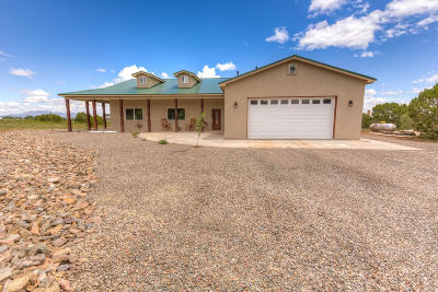 Sandia Park Single Family Home For Sale: 10 Harms Lane