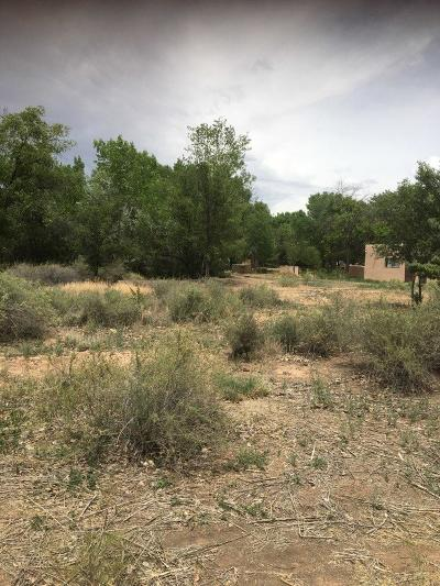 Corrales Residential Lots & Land For Sale: Coronado Road