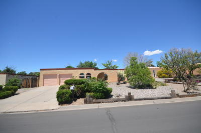 Albuquerque Single Family Home For Sale: 10221 Keeping Drive NW