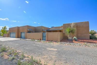 Rio Rancho Single Family Home For Sale: 3313 Nativitas Road NE