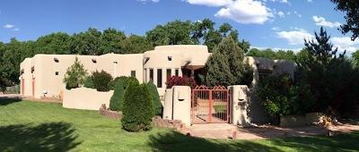 Sandoval County Single Family Home For Sale: 30 Camino Vega Verde